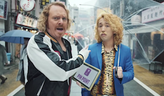 Carphone Warehouse - Keith Lemon Pin Point TV Ad in Tokyo
